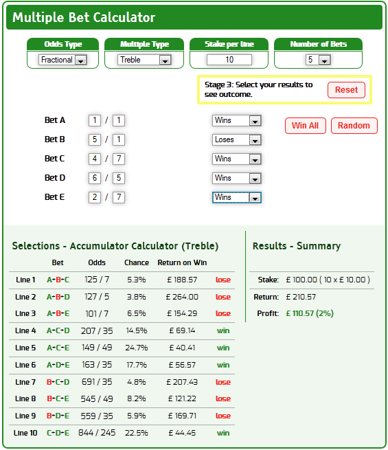 Calculate multiple betting odds best betting picks today