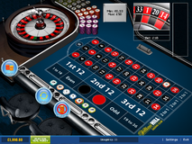 Roulette bet on a single number